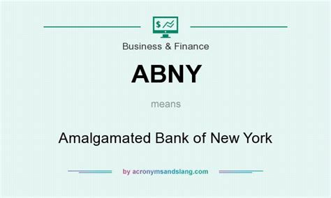 abny amalgamated bank of new york in business finance