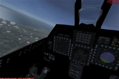F-22A Raptor Package for FSX F 15 Cockpit
