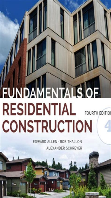 fundamentals of construction estimating books fundamentals of residential construction 4th edition an