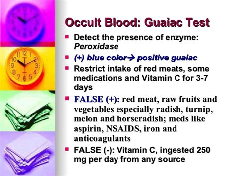 Stool Occult Blood Positive Treatment by False Positive Occult Blood In Stool False Positive Occult Blood In Stool Mejorstyle Do