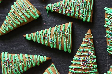 connection recipe gingerbread christmas tree cookies