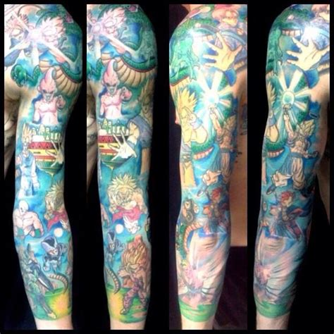 dbz tattoo z z