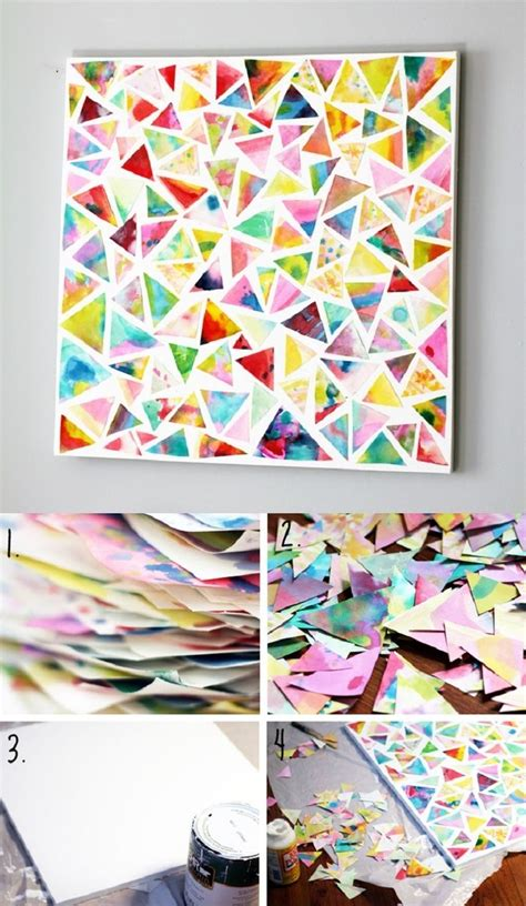 Handmade Artwork Ideas - diy abstract ideas amazing wallpapers