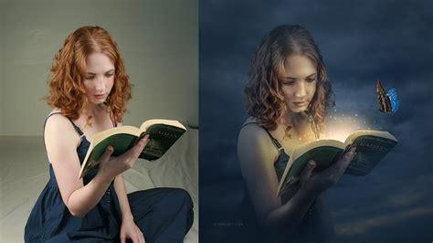 tutorial fotografia basica fantasy book manipulation effects photoshop tutorial