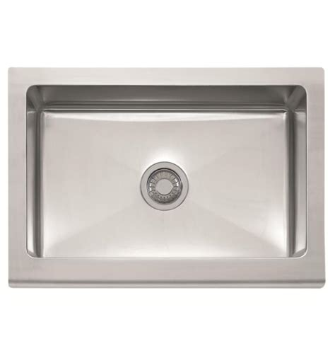 franke stainless apron sink franke mhx710 30 manor house 30 quot single basin apron front