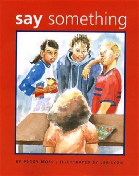 Say Something by The Crafty Counselor Say Something