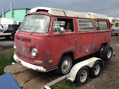 1970 volkswagen vanagon purchase used 1970 vw bus westfalia camper pop top