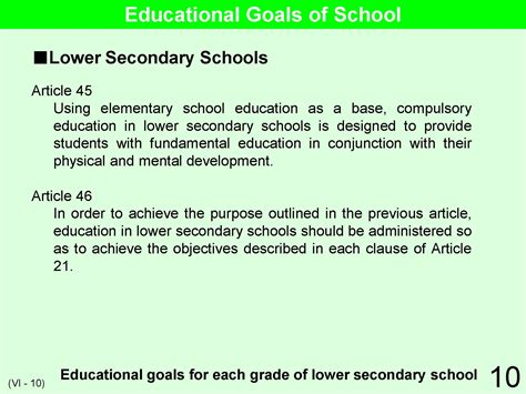 educational and career goals and objectives educational system practice in japan