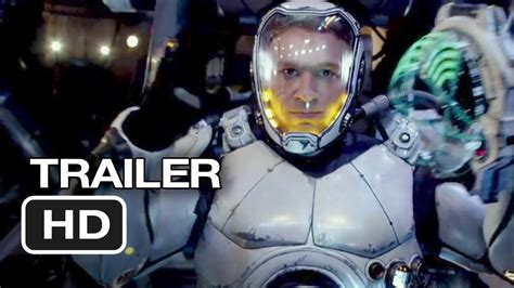 film robot human pacific rim official trailer 1 2013 guillermo del