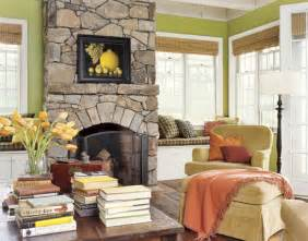 Apple Green Living Room by Bright Green And Orange Farmhouse Mojan Sami