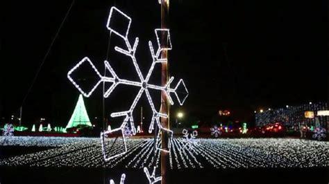 hank aaron stadium lights christmas nights of lights at the hank wpmi