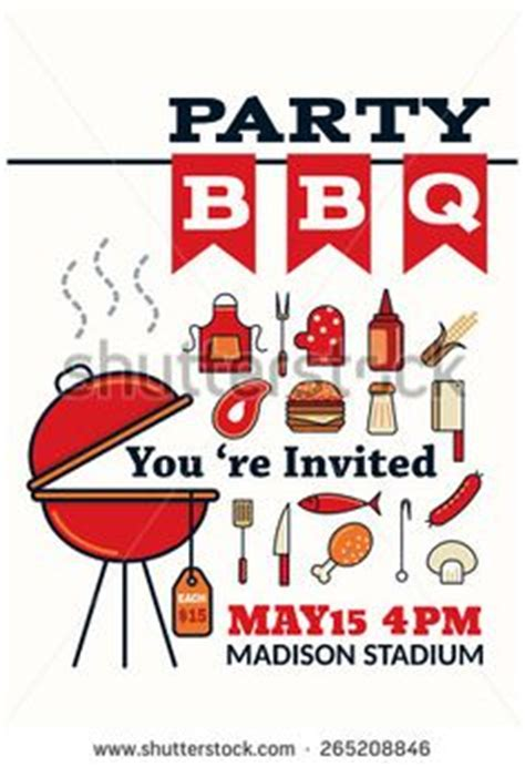 bbq recipe card template bbq event poster or flyer flyer template