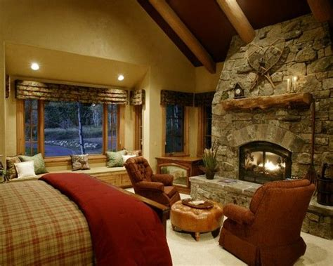 Removing Bedroom Fireplace Traditional Rustic Lake House Bathroom Colors Design