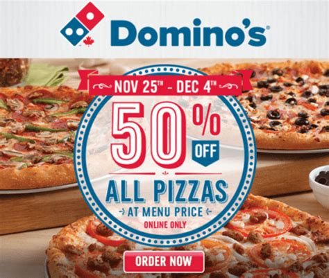 domino pizza offer today canadian deals coupons discounts sales flyers hot
