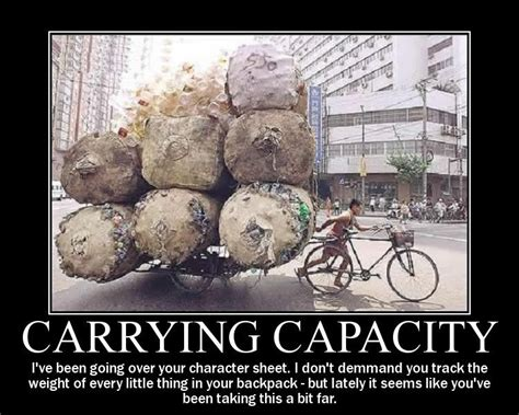 Meme D - carrying capacity