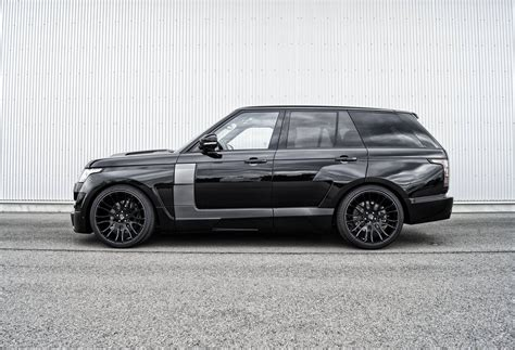 range rover pink and black hamann mystere range rover goes from pink to black