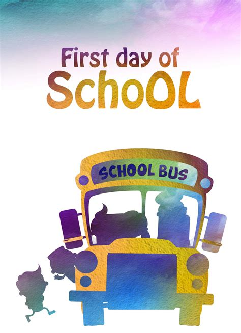 first day of school heaven sent greeting cards