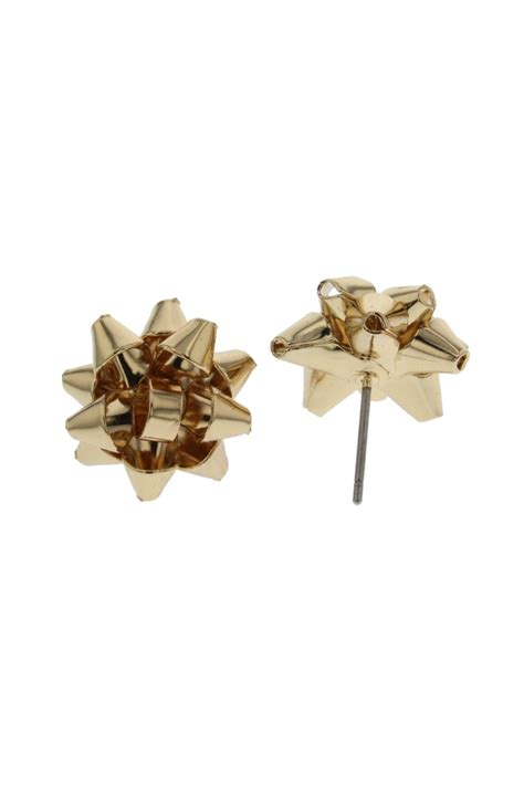 idc jewelry gift bow earrings from new jersey by