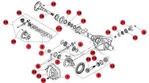 Rugged Ridge Steel Wheels Rear Dana 35