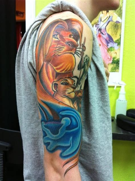 lion king tattoos king tattoos 20 amazing designs of simba and co