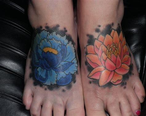 lotus tattoo on foot 41 enticing lotus flower tattoos