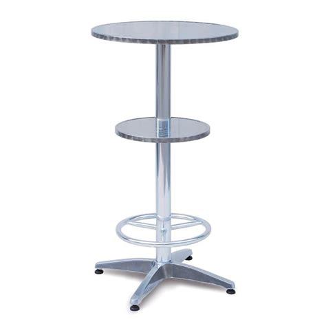 tavolo alto da bar tavolo alto da bar con doppio piano e poggiapiedi idfdesign