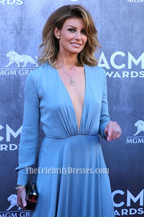 country music academy australia faith hill blue prom dress 49th annual academy of country