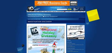 Investigation Discovery Com 2017 Giveaway - investigation discovery sinsational holiday giveaway