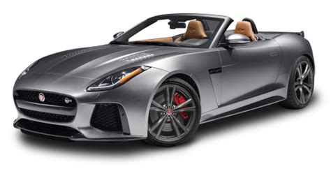 jaguar car png gray jaguar f type svr convertible car png image pngpix