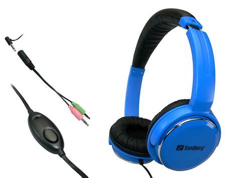 Headset Blue sandberg home n headset blue 125 92