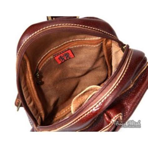 New Bnia Classic Backpack 1773 leather single shoulder backpack brown single backpack bagswish