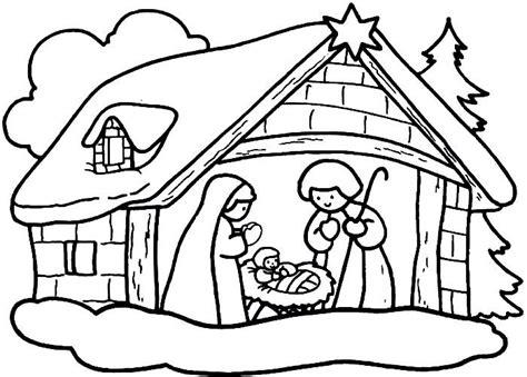 dibujos de navidad para colorear del nacimiento de jesus im 225 genes para colorear de dibujos de navidad colorear