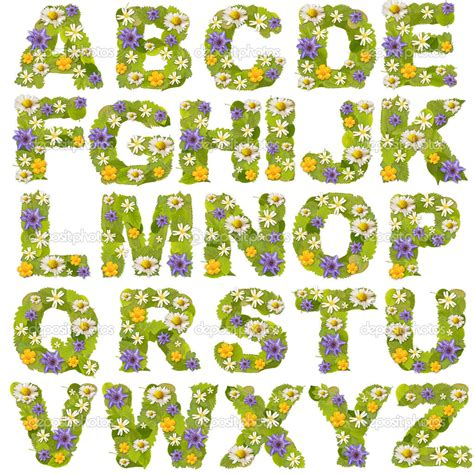 floral pattern font 15 flower alphabet font images flower fonts alphabet
