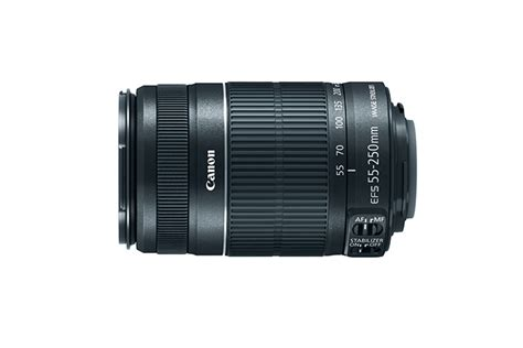 Resmi Lensa Canon 55 250mm ef s 55 250mm f 4 5 6 is ii