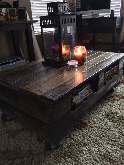 Pallet Coffee Table Pinterest Pallet Coffee Tables Coffee Tables And Pallets On Pinterest