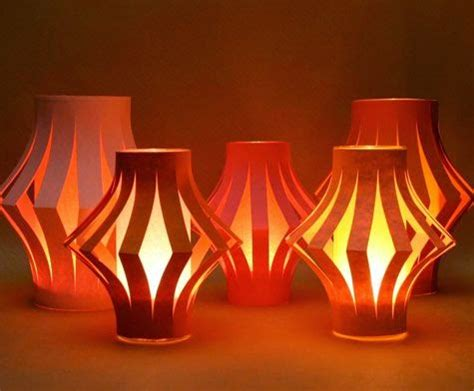How To Make Beautiful Paper Lanterns - home decoration ideas for greener diwali go smart bricks
