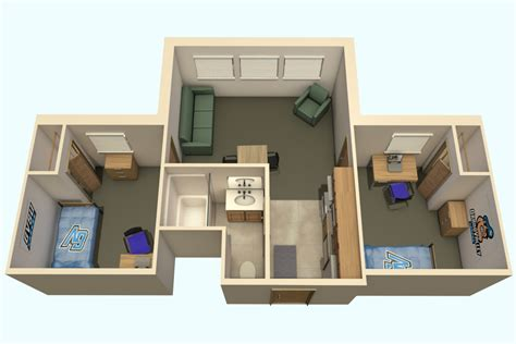 Gym Layout Plan murray amp vansteeland apartments housing students