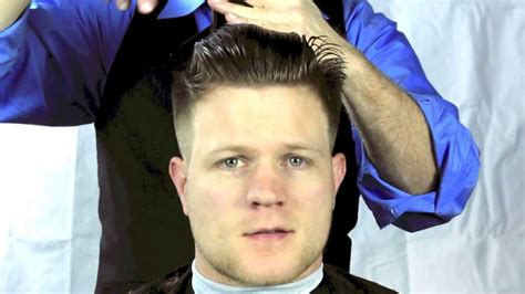 Cut L by How To Cut A S Pompadour Haircut Or Tight