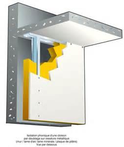 isolation phonique prix pour insonoriser mur plafond et