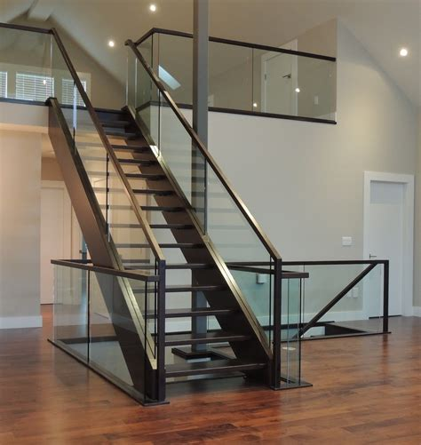 glass banister rails tempered glass panels calgary commission for the southern