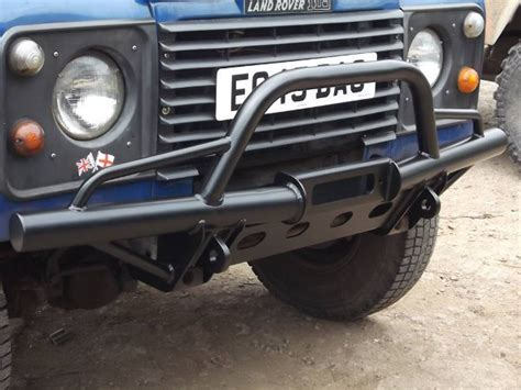 land rover defender bumpers land rover defender 90 110 front winch bumper buy direct