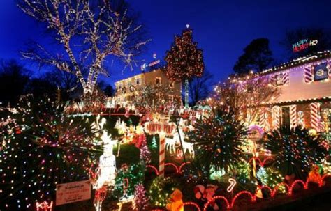 best christmas lights in richmond va richmond tacky lights tour