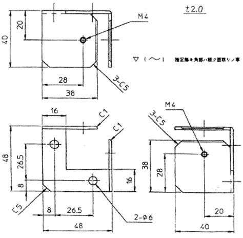 図面作成・書き方・記号|製図ガイド