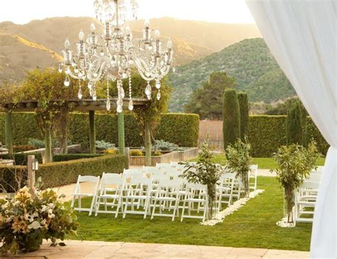 best wedding reception venues in california bernardus lodge spa wedding ceremony reception venue