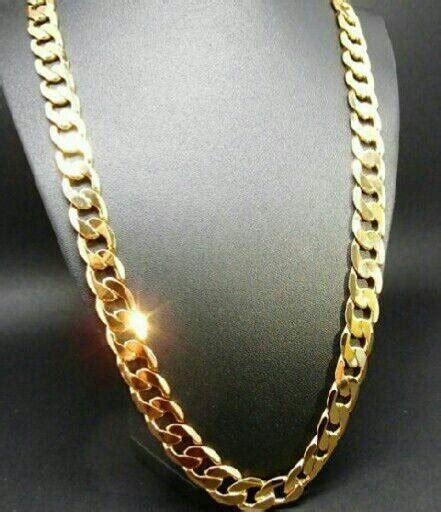 cadena de oro para hombre joyeria cadena enchapada de oro para hombre abel hendyla