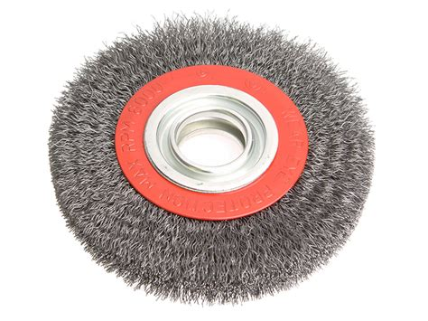 wire wheel brush for bench grinder crimped wire brushes for bench grinders