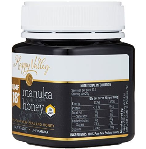Happy Valley Manuka Honey Umf 18 250gr images