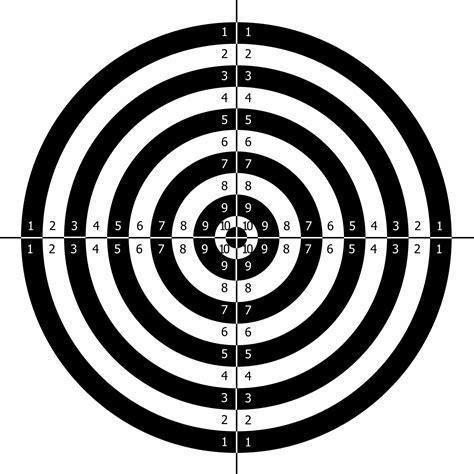 printable targets midway alfie pridmore midway pistol target in pdf