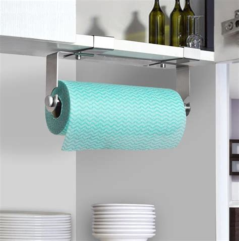 Tempat Tisu Stand Tempat Tissue Paper Roll Stand 6905a T1310 sus 304 stainless steel kitchen paper holder tissue roll hanger the drawer cabinet door