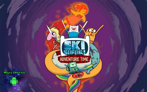 adventure time ski safari apk ski safari hora de aventura apk sd eskia por todo ooo